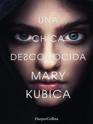 cover image of Una chica desconocida