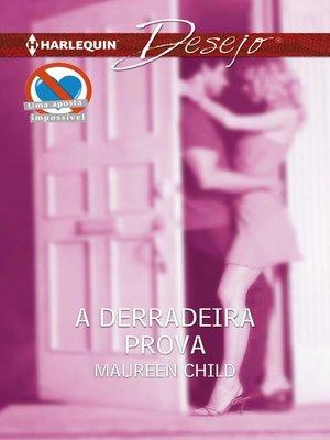 cover image of A derradeira prova