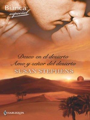 cover image of Deseo en el desierto--Amo y señor del desierto