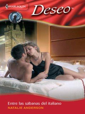 cover image of Entre las sábanas del italiano