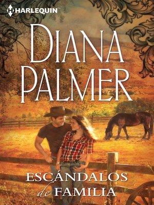 cover image of Escándalos de familia