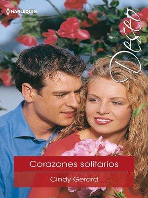 cover image of Corazones solitarios