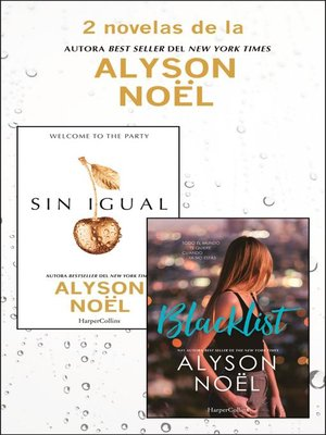 cover image of Pack Alyson Noël--Enero 2018