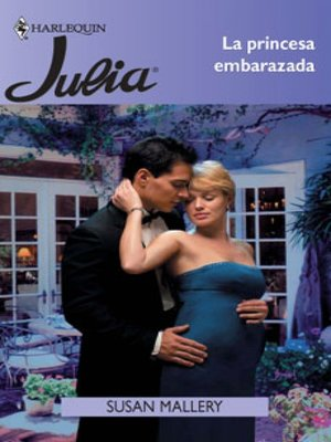 cover image of La princesa embarazada