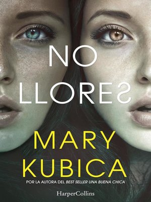 cover image of No llores
