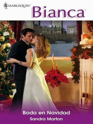 cover image of Boda en Navidad