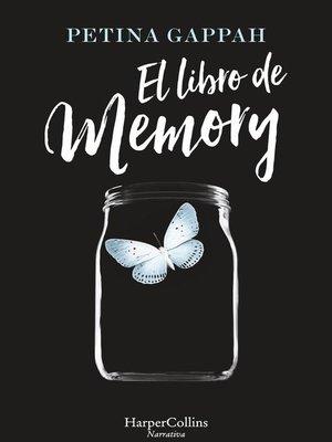 cover image of El libro de memory