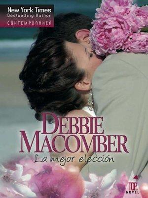 cover image of La mejor elección
