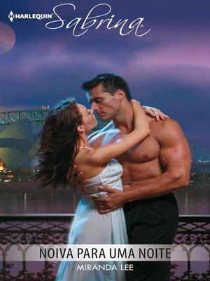 cover image of Noiva para uma noite