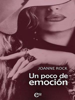 cover image of Un poco de emoción