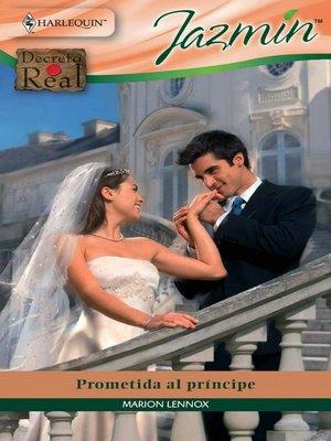 cover image of Prometida al príncipe