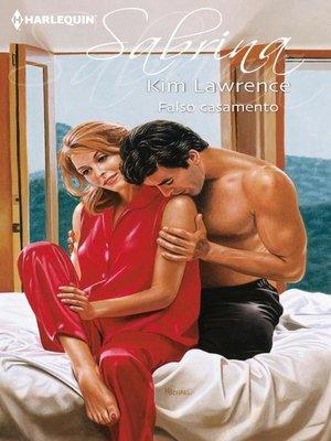 cover image of Falso casamento