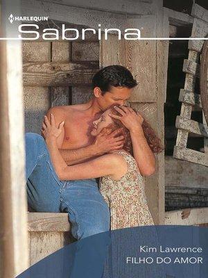 cover image of Filho do amor