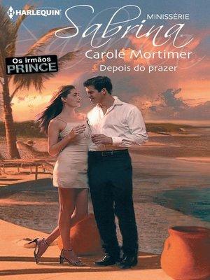 cover image of Depois do prazer