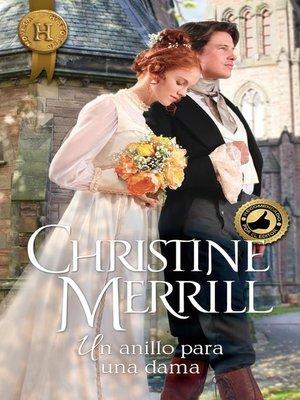 cover image of Un anillo para una dama