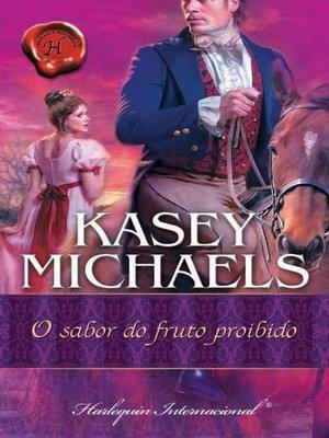 cover image of O sabor do fruto proibido