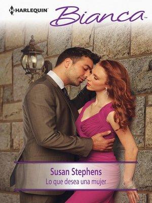 cover image of Lo que desea una mujer