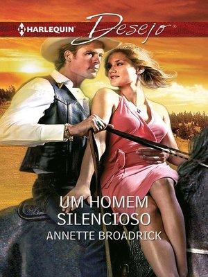 cover image of Um homem silencioso