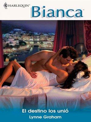 cover image of El destino los unió