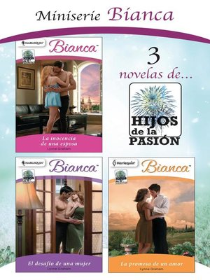 cover image of E-Pack Hijos de la pasión--mayo 2020