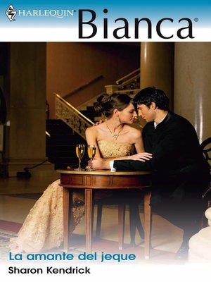 cover image of La amante del jeque