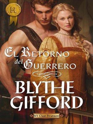 cover image of El retorno del guerrero
