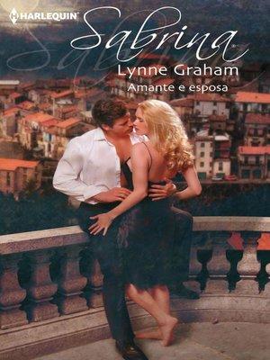 cover image of Amante e esposa