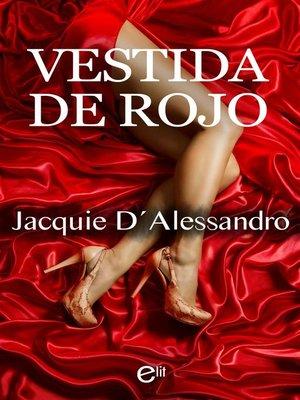 cover image of Vestida de rojo