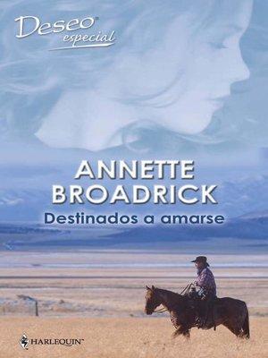 cover image of Destinados a amarse