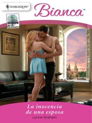 cover image of La inocencia de una esposa