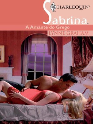 cover image of A amante do grego