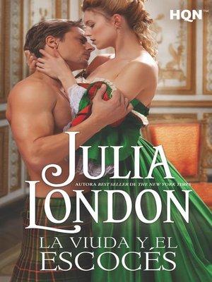 cover image of La viuda y el escocés