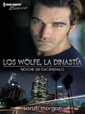 cover image of Noche de escándalo