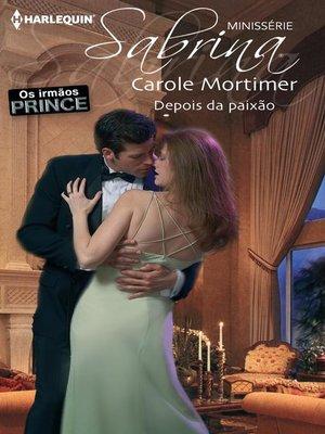 cover image of Depois da paixão