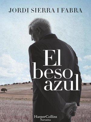 cover image of El beso azul