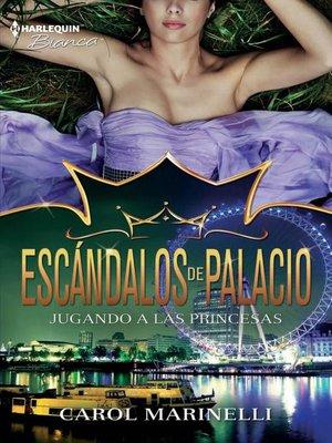 cover image of Jugando a las princesas