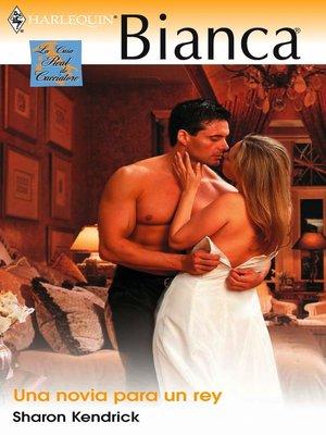 cover image of Una novia para un rey