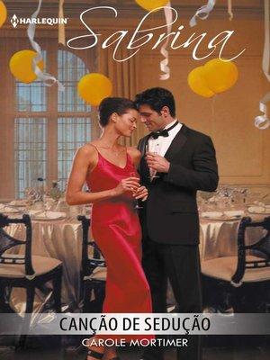cover image of Canção de sedução