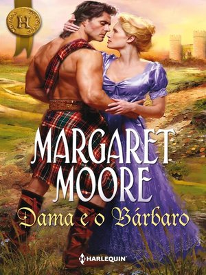 cover image of Dama e o bárbaro
