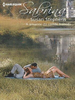 cover image of A amante do conde francês