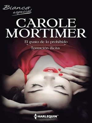 cover image of El gusto de lo prohibido--Tentación ilícita