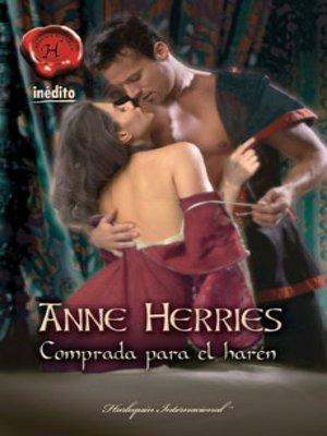 cover image of Comprada para el harén