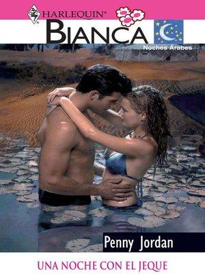 cover image of Una noche con el jeque