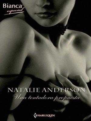 cover image of Una tentadora propuesta