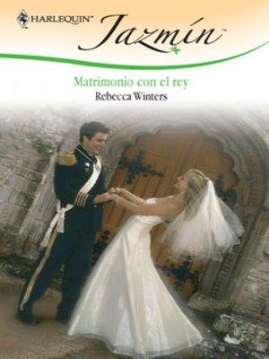 cover image of Matrimonio con el rey