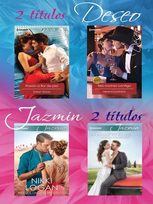 cover image of Pack Deseo y Jazmín abril 2016