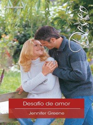 cover image of Desafío de amor