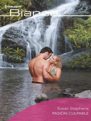 cover image of Pasión culpable