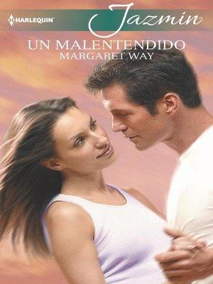 cover image of Un malentendido