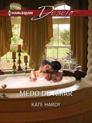 cover image of Medo de amar